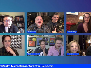 #270 SAT. GAME NIGHT with Julia Murney, Hunter Foster, Jack Plotnick, Marc Shaiman and others!