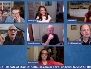 #218 FRASIER Cast Reunion with Kelsey Grammer, David Hyde Pierce, Jane Leeves, Peri Gilpin, Bebe Neuwirth and Dan Butler