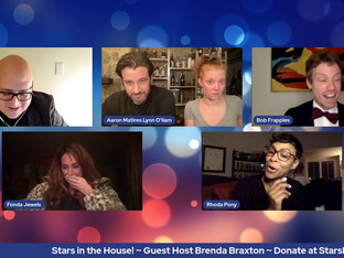 #289 It's Guest Host Week!  Join host Brenda Braxton for... Billy Mitchell's Villain: DeBlanks (a fill-in-the-blanks comedy) *A madcap Mad-libs murder mystery adventure with guests Carly Hughes, Patti Murin, Colin Donnell, Barrett Foa, Lesli Margherita and Frank DeCaro!