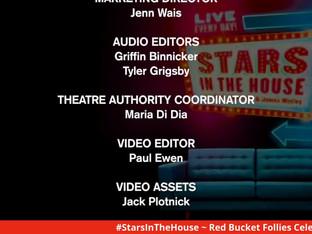 #252 Red Bucket Follies celebration