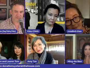 #363 THE JOY LUCK CLUB Cast will reunite in honor of AAPI Month!  Kieu Chinh, France Nuyen, Ming-Na Wen, Lauren Tom, Rosalind Chao and writer/author Amy Tan will come together to reminisce about their time working on this groundbreaking project.