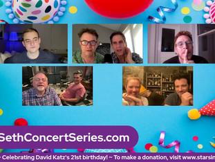 #353 Celebrating David Katz turning 21!!  With surprise guests!
