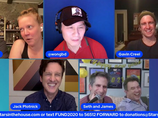 #271 GAME NIGHT with Gavin Creel, Colin Donnell, Patti Murin and BD Wong