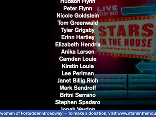 #389 Guest Host Christine Pedi and the women of Forbidden Broadway with Donna English, Lori Hammel, Jenny Lee Stern, Karen Murphy, Susanne Blakeslee, Gina Kreiezmar and Dee Hoty.