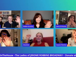 #215 The Ladies of JEROME ROBBINS' BROADWAY Cast Reunion with Charlotte d'Amboise, Susann Fletcher, Debbie Gravitte, JoAnn Hunter, Mary Ann Lamb and Faith Prince