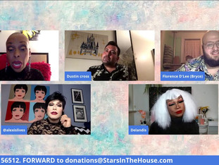 #208 Act 2...Simply Dragnificent!  Guest Host Brenda Braxton welcomes Delandis Mcclam, Dustin Cross and Bryce Huey Turgeon.