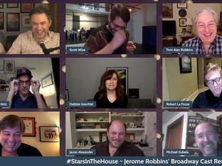 #308 Jerome Robbins' Broadway Cast Reunion with Jason Alexander, Scott Frankel, Michael Kubala, Robert LaFosse, Paul Gemignani, Jerry Mitchell, Tom Robbins and Scott Wise.