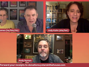 #324 Celebrating Broadway, West End and Yiddish Fiddler On The Roof with Danny Burstein, Joel Grey, Judy Kuhn and Andy Nyman joined by a special guest from the National Immigration Law Center.