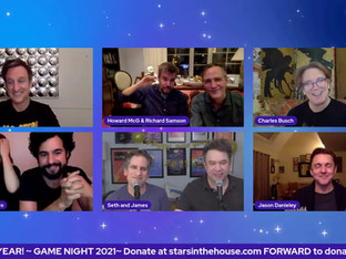 #269 FRI. GAME NIGHT with Jason Danieley, Charles Busch, Bellamy Young, Jack Plotnick and others!