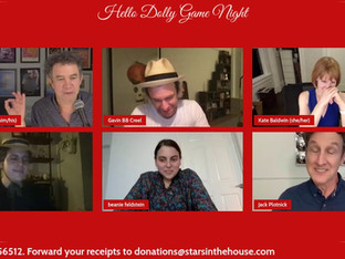 #371 HELLO, DOLLY! Game Night with Kate Baldwin, Gavin Creel, Taylor Trensch, Beanie Feldstein and Jack Plotnick.