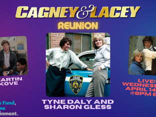 #338 CAGNEY & LACEY Reunion with Sharon Gless, Tyne Daly and Martin Kove  