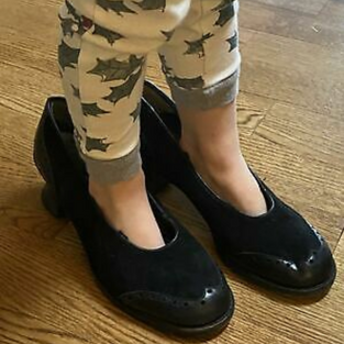 SOLD: Laura Benanti's Sound of Music Shoes (Black)