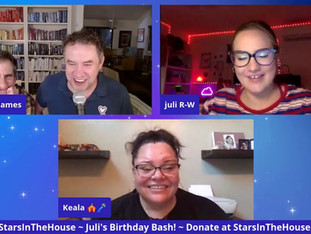 #211 JULI TURNS 20!!!  A celebration for Juli with special surprise guests to join for her birthday milestone!  ​