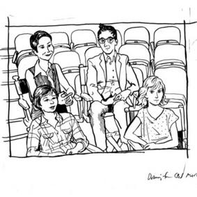 SOLD: Fun Home Alison Bechdel Original
