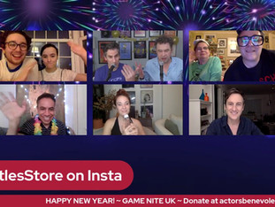 #266 NYE #1 - GAME NIGHT with Sierra Boggess, Jack Plotnick, Andy & Sophie Nyman, David Bedella and Preston Nyman & Emily