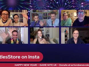 #266 NYE #1 - GAME NIGHT with Sierra Boggess, Jack Plotnick, Andy & Sophie Nyman, David Bedella and Preston Nyman & Emily