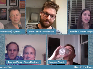 #329 THE AMAZING RACE Game Night 2 with Tom Rock & Terry Cosentino and Brooke Camhi & Scott Flanary