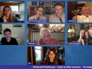 #368 Kate & Allie Reunion with Susan Saint James, Jane Curtin, Frederick Koehler, Allison Smith, Ari Meyers, and director Bill Persky.