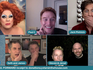 #296 Game Night!  Join Seth and James with guests Steven Skeels and Jared Bortz, Paul Castree and Nina West  