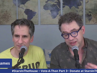 # 232 Part 3 - It's Election Day!  Join Seth and James as Stars In The House hosts an Election Day Vote-A-Thon!!