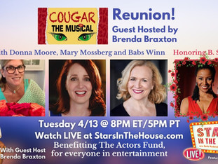 #337 COUGAR Reunion with guest host Brenda Braxton with Dustin Cross, Donna Moore, Mary Mossberg and Babs Winn honoring B. Smith