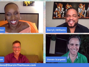#203 Guest Host Brenda Braxton is Cruising into Act 2 with Norwegian Cruise Line!  She is joined by Darryl Jovan Williams, Robert Dean Hertenstein and Steven Scarpetti.
