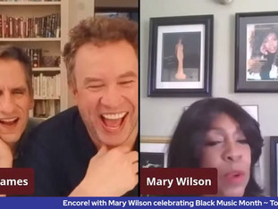 #370 Celebrating the Legacy of Mary Wilson.  Join us for this encore presentation of our past interview with the fabulous Mary Wilson.