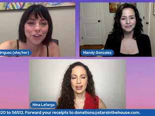 #323 Pulled Into Women's History Month with guest host Krysta Rodriguez welcomes guests Kathryn Gallagher, Mandy Gonzalez and Nina Lafarga