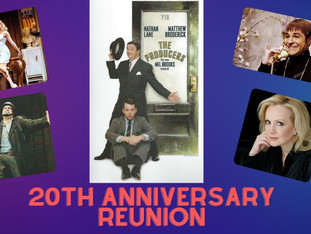 #340 THE PRODUCERS Original Broadway Cast Reunion with Matthew Broderick, Nathan Lane, Brad Oscar, Cady Huffman and Director/Choreographer, Susan Stroman. Judy Perl Travel is offering a matching donation for tonight's show!  