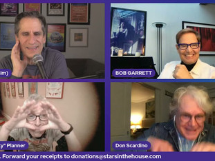 #359 GODSPELL 50th Anniversary Reunion featuring Stephen Schwartz and the players: Bob Garrett, Peggy Gordon, Joanne Jonas, Gilmer McCormick, Don Scardino, Mark Planner and George Salazar (Broadway revival).  Donations tonight will be matched up to $3,000 from lifelong Broadway fan and longtime Actors Fund supporter Becca Rothschild!