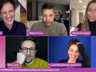 #287 It's Guest Host Week!  Join host Jack Plotnick for some... Games & Shenanigans with guests Wilson Cruz, Merrin Dungey, Lesli Margherita and Tom Lenk!  