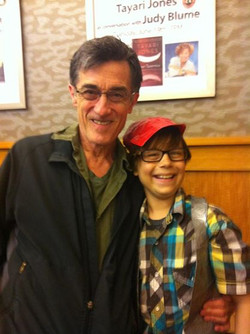With Roger Rees
