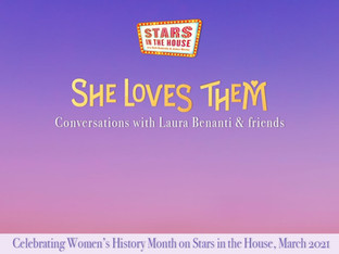 #315 Women's History Month: She Loves Them: Conversations with Laura Benanti and Friends with guest host Laura Benanti, joined by Brandon Michael Nase, Cindy Tsai, Celia Keenan-Bolger and Jefferey Omura.  ​