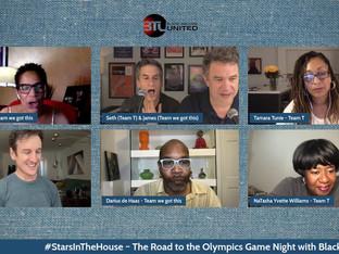 #394 The Road to the Olympics Game Night with Black Theatre United special guests Darius de Haas, Allyson Tucker, Tamara Tunie,  Lillias White and NaTasha Yvette Williams!!