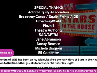 #317 The Return of SNIB with Kristin Chenoweth, Andrew Lippa and surprise guests.  Donations tonight will be matched up to $1,500!
