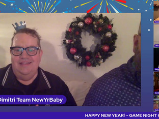 #268 NYE #3 - GAME NIGHT with Juli Rudetsky Wesley, Marissa & Judah, Paul & Dimitri, Keala Settle and Naomi