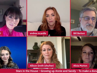 #346 Growing Up Annie and Sandy with guest host Christine Pedi and Bill Berloni, Andrea McArdle, Alicia Morton, Allison Smith and Josie Todd