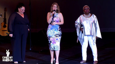 Jessie Mueller/Keala Setlle/Lillias White sing Natural Woman at Concert For America