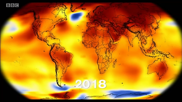 Climate change the world 2018