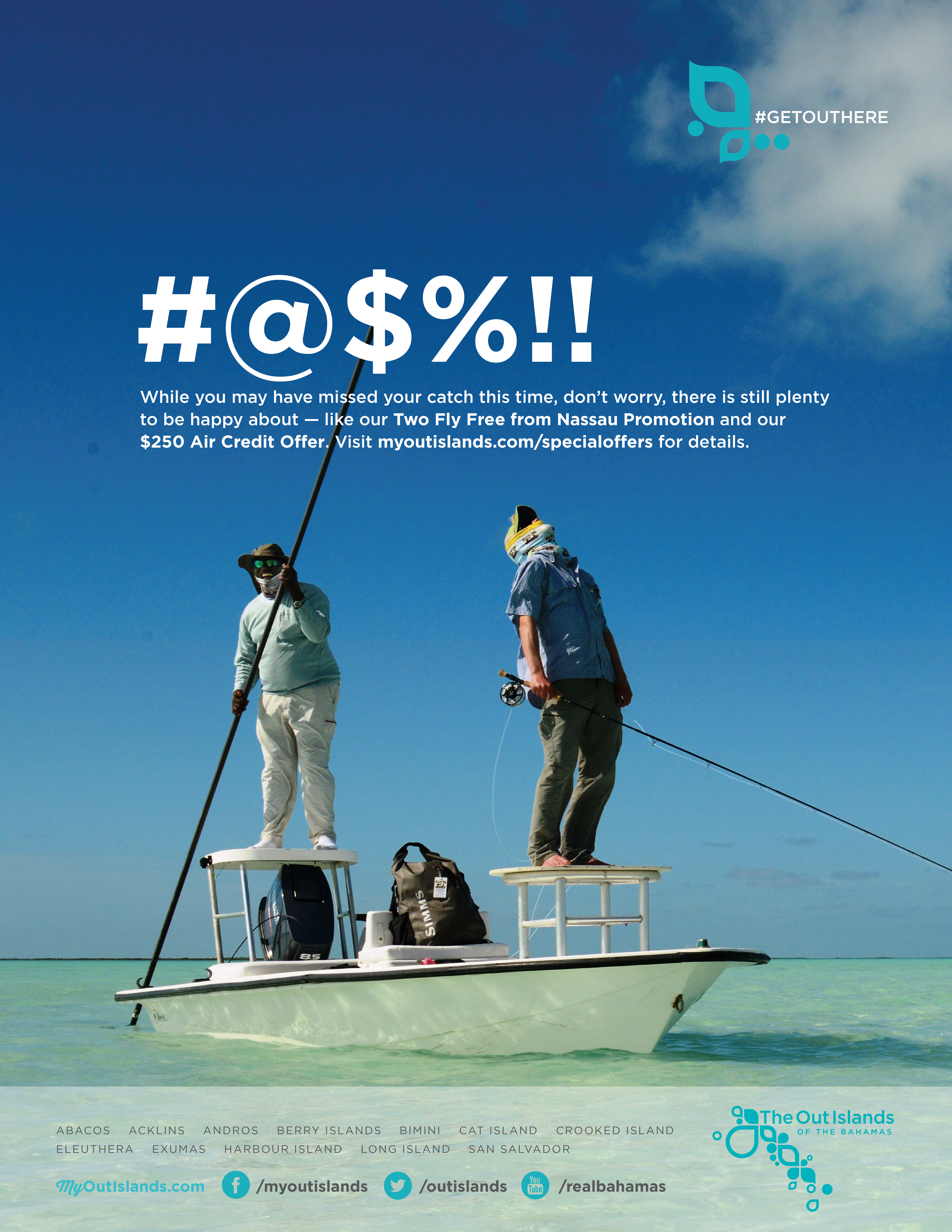 Fly Fishing Advert