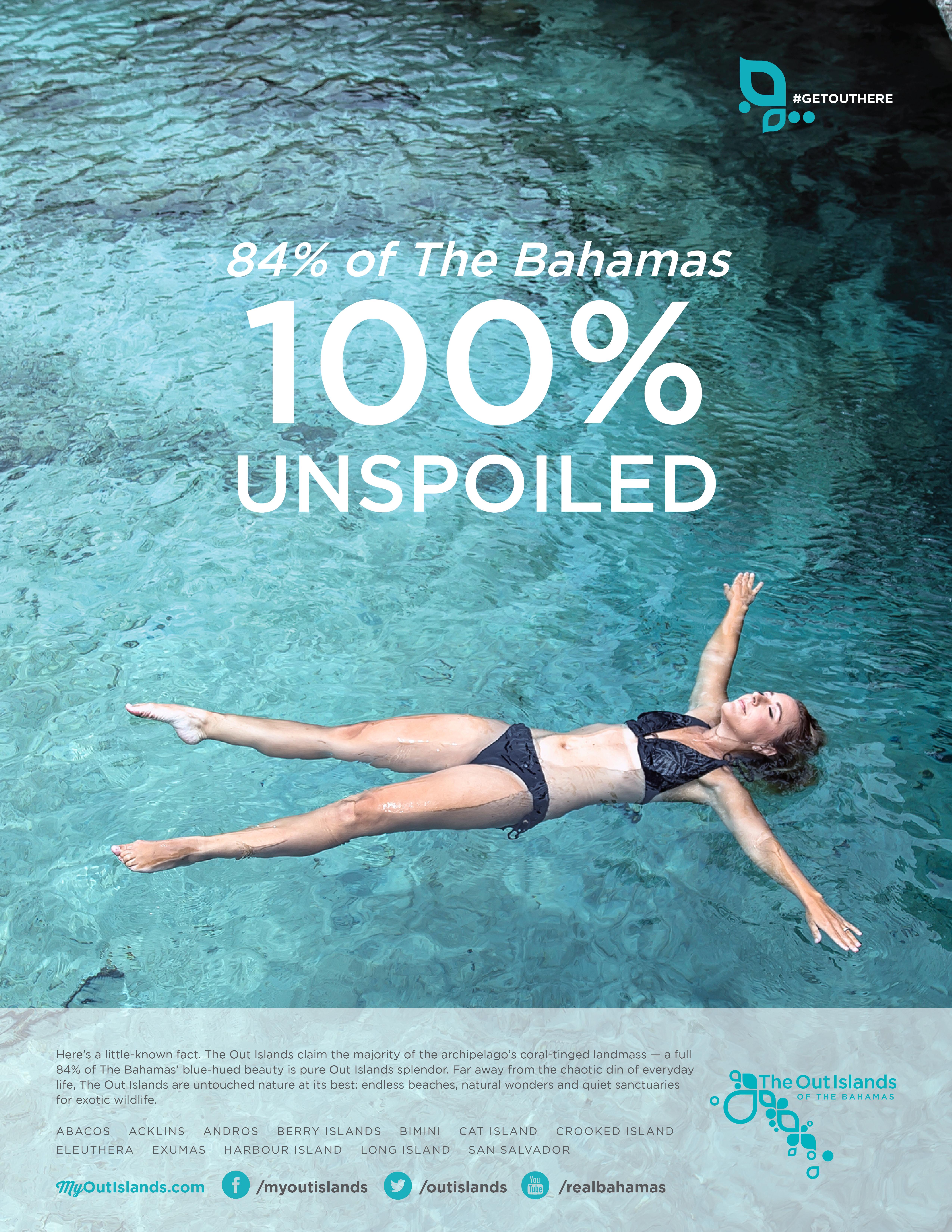 Bahamas Out Island Print Advert