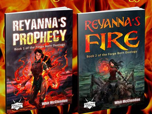 Reyanna's Fire is Here! And so is Fandemic!