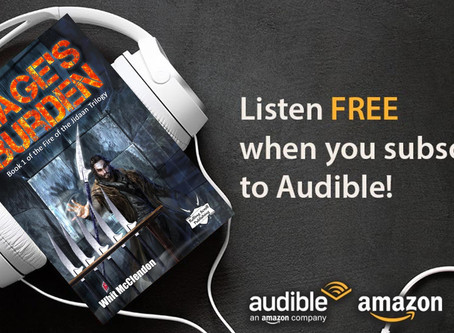 Audiobooks and New Covers