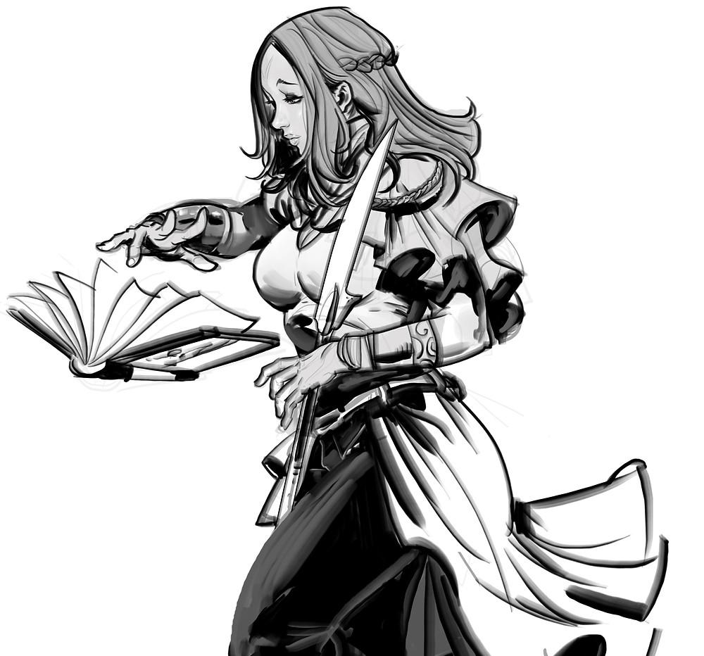 Alyssa the healer