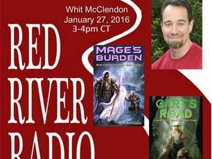 I'm on the Radio!  Wednesday, 3p CT