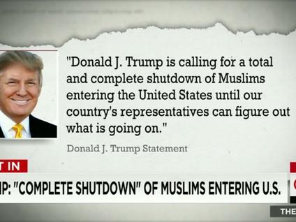 Trump's Einreiseverbot für Moslems