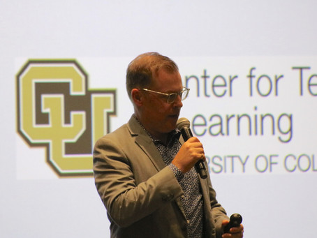 Keynote address: Center for Teaching & Learning at CU-Boulder