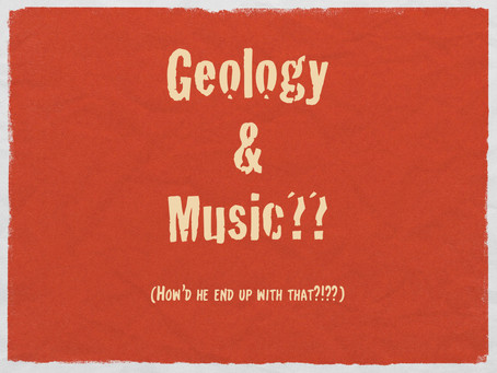 Music and...geology??