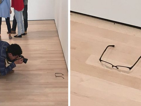 Some thoughts on those eyeglasses at San Francisco's MoMA