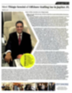 In The Press - Thiago Sensini - Offshore Staffing Inc